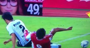 Φρικιαστικός τραυματισμός σε αγώνα στη Βραζιλία