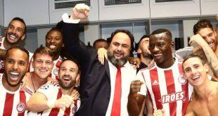 Μαρινάκης σε παίκτες: Δίνουμε όλοι τον λόγο μας για νίκη στο ντέρμπι