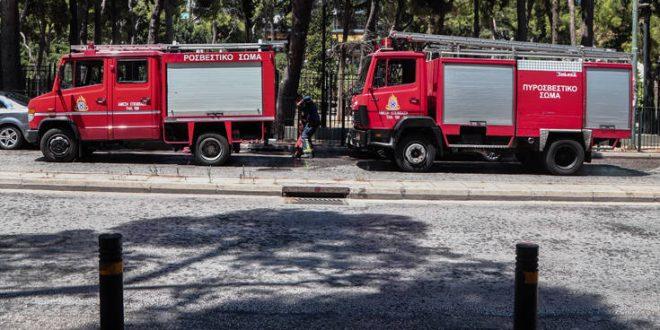 Φωτιά ξέσπασε στη Λακωνία