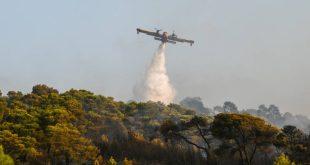 Φωτιά στη Ζάκυνθο: Εκκενώνονται τα χωριά Αγαλάς και Κερί