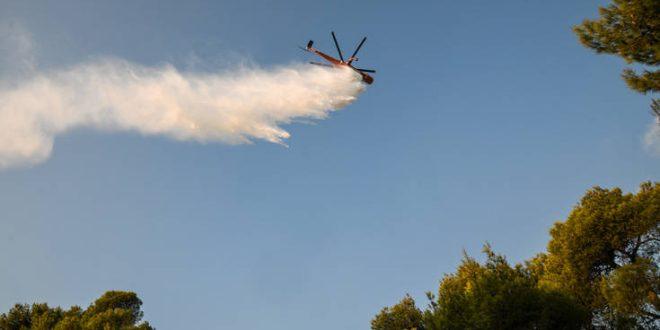 Φωτιά στα Καμπόχωρα της Χίου