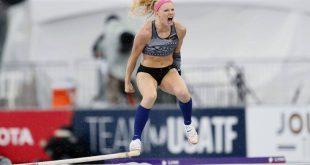 Παγκόσμιο πρωτάθλημα στίβου: Ο χορός της Σάντι Μόρις για την πρόκριση στον τελικό του επί κοντώ