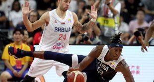 Μουντομπάσκετ 2019: Οι ΗΠΑ αποκαθηλώθηκαν και από τη Σερβία
