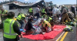 Τουλάχιστον 4 τουρίστες σκοτώθηκαν σε τροχαίο δυστύχημα με λεωφορείο στη Γιούτα
