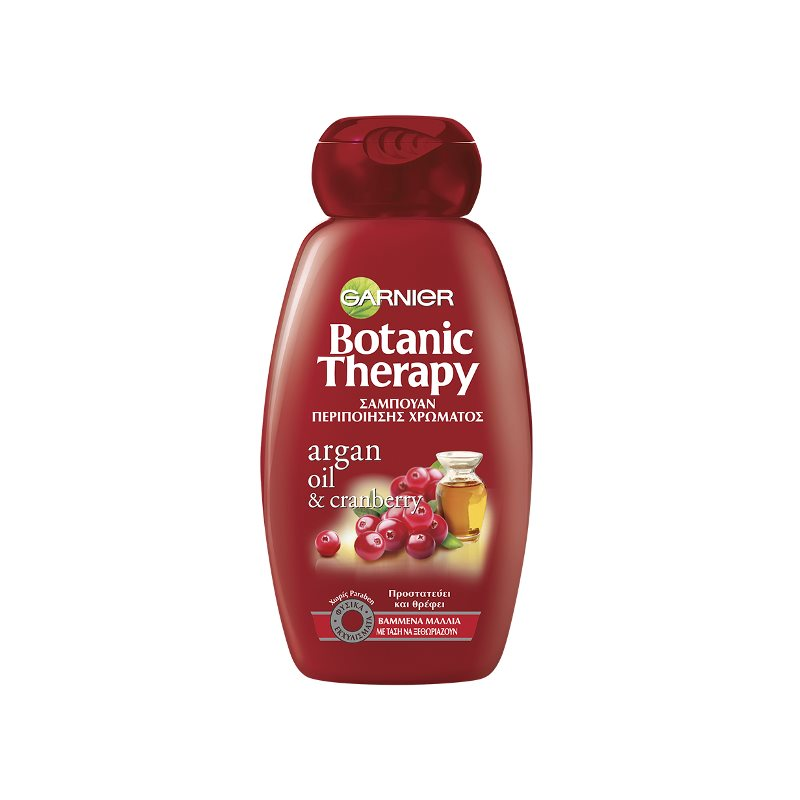 GARNIER BOTANIC THERAPY ARGAN OIL CRANBERRY SHAMPOO