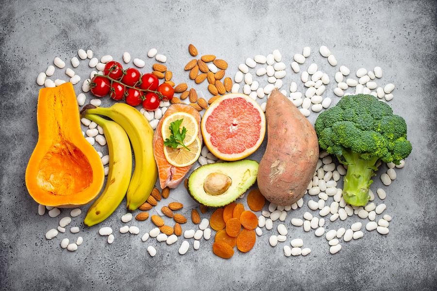 bigstock Natural Food Sources Of Potass 279924982
