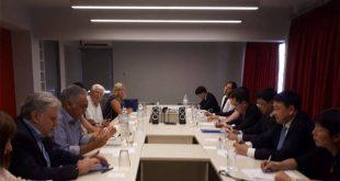 Συνάντηση ΣΥΡΙΖΑ με αντιπροσωπεία του Κομμουνιστικού Κόμματος Κίνας