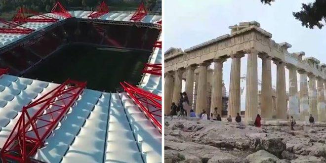 ChampionsLeague: Η «ξενάγηση» της Τότεναμ σε Αθήνα και Πειραιά πριν το ματς με τον Ολυμπιακό