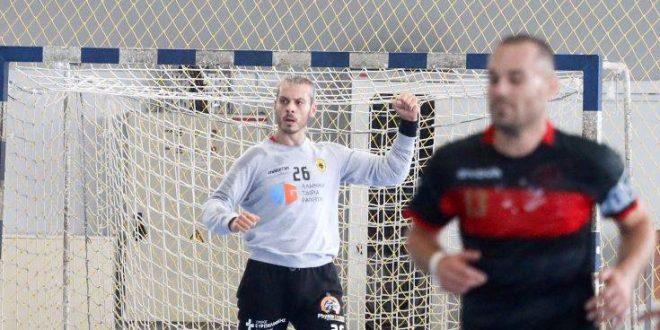 Ο τερματοφύλακας χάντμπολ της ΑΕΚ έκανε τον τουρκικό στρατιωτικό χαιρετισμό