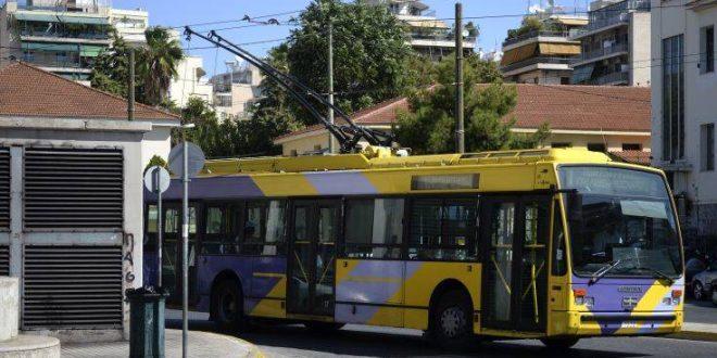 Χωρίς τρόλεϊ για τέσσερις ώρες η Αθήνα