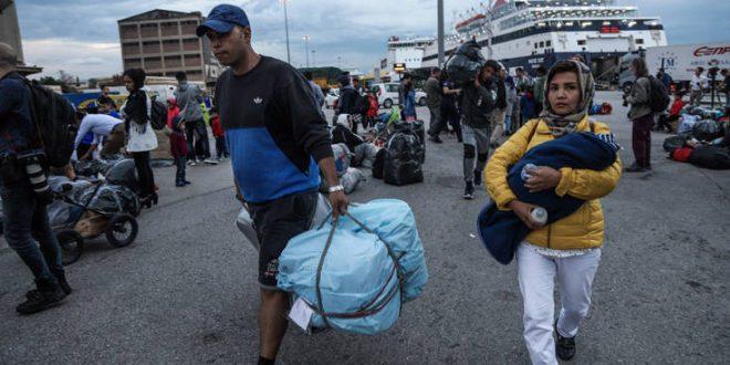 Φεύγουν το απόγευμα από τη Σάμο 700 αιτούντες άσυλο