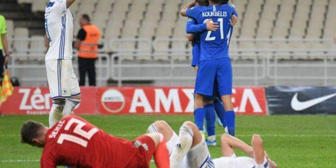 Νίκη γοήτρου για την εθνική με 2-1 τη Βοσνία