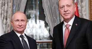 Τηλεφωνική επικοινωνία Ερντογάν – Πούτιν για τη Συρία