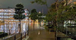 Τις πληγές της από τον τυφώνα Χαγκίμπις μετρά η Ιαπωνία, 37 οι νεκροί