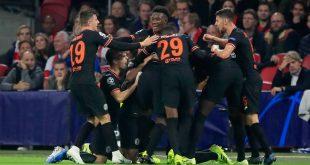 Champions League: Ο πανηγυρισμός των παικτών της Τσέλσι... ξέφυγε