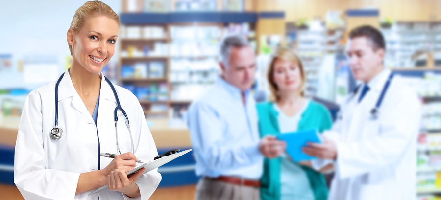 bigstock Pharmacist Doctor woman 119165711