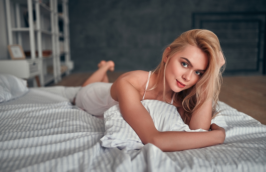 bigstock Sexy Woman In Bed 290360974