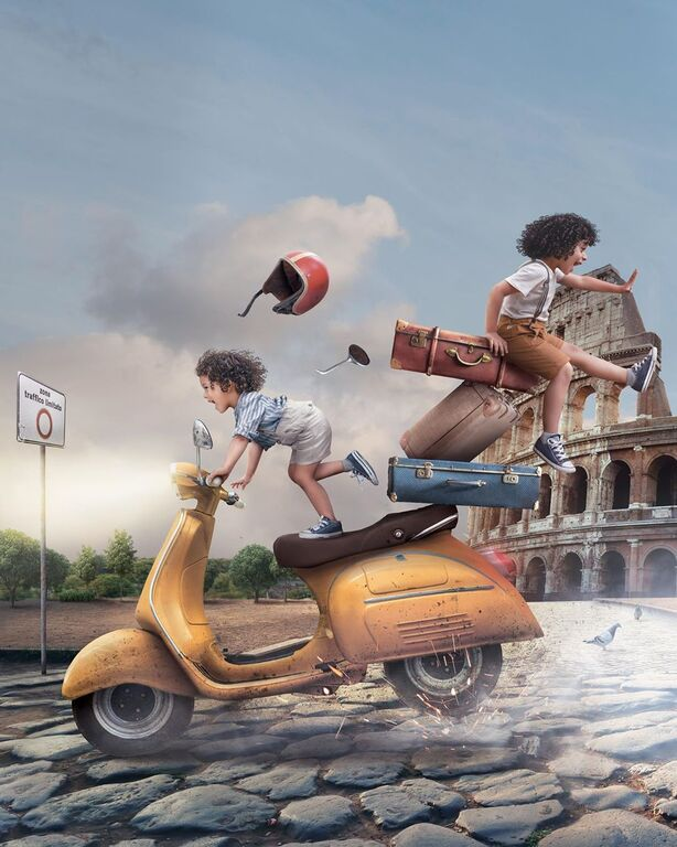 Όταν η μαμά έχει φαντασία, η ζωή με τα παιδιά μοιάζει σαν παραμύθι (pics)