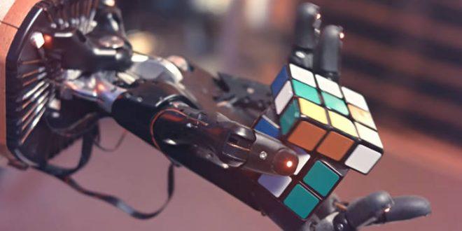Ρομποτικό χέρι λύνει τον κύβο του Ρούμπικ σε 4 λεπτά