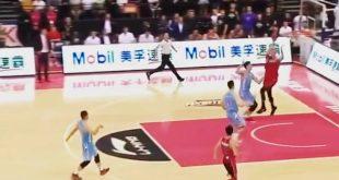 Απίστευτο φινάλε σε παιχνίδι μπάσκετ στην Κίνα