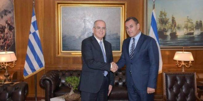 Συνάντηση Παναγιωτόπουλου με τον νέο πρέσβη του Ισραήλ