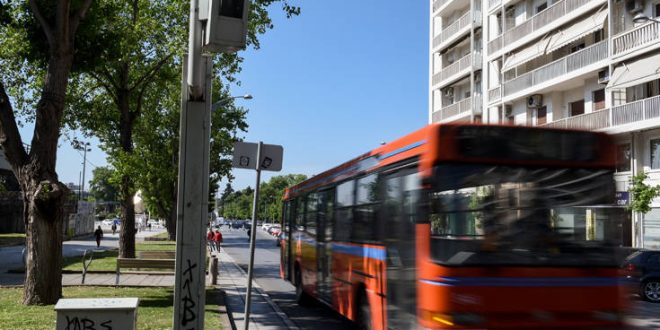 Λεωφορειολωρίδες: Οι κάμερες γράφουν, πρόστιμο για τους παραβάτες