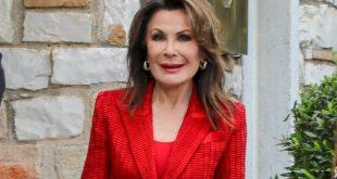 Γιάννα Αγγελοπούλου: Με κατακκόνικο κουστούμι έκλεψε τις εντυπωσεις