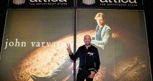 Ο John Varvatos παρουσίασε την Capsule συλλογή Led Zeppelin x στο πολυτακατάστημα Attica City Link