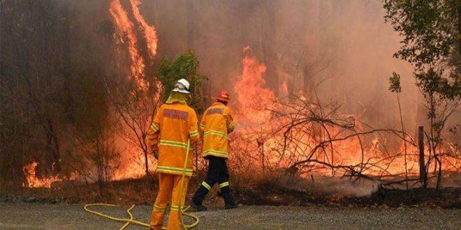 Μάχη με τις πυρκαγιές δίνουν οι πυροσβέστες στην Αυστραλία