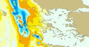 Καιρός: Έτσι θα «σκεπάσει» την Ελλάδα το κύμα κακοκαιρίας