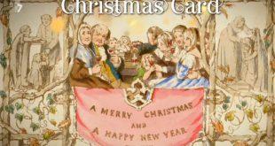 Διαθέσιμη για τα μάτια του κοινού η πρώτη χριστουγεννιάτικη κάρτα που φτιάχτηκε ποτέ