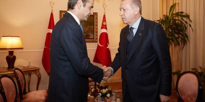Μητσοτάκης - Ερντογάν: Κλείδωσε το ραντεβού για το μεσημέρι της Τετάρτης