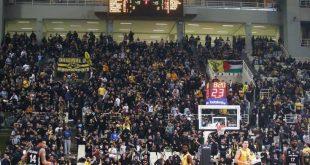 Basketball Champions League: Έρευνα για καμένη σημαία του Ισραήλ στο ΑΕΚ - Χάποελ Ιερουσαλήμ