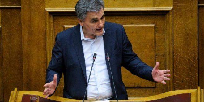 Τσακαλώτος σε Σταϊκούρα: Ανυπόστατοι οι ισχυρισμοί πως αφήσαμε 396 εκατ. δημοσιονομικό κενό