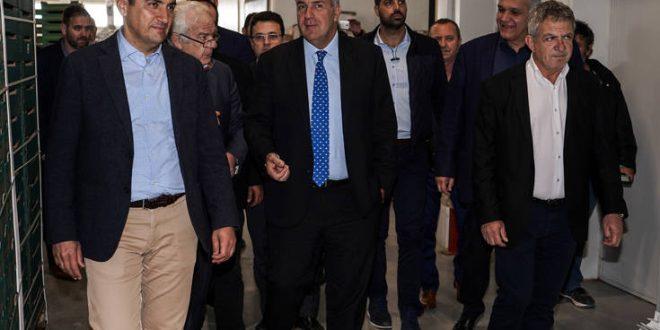 Δεσμεύσεις Βορίδη για άμεση λύση στα προβλήματα των ελαιοπαραγωγών της Κρήτης