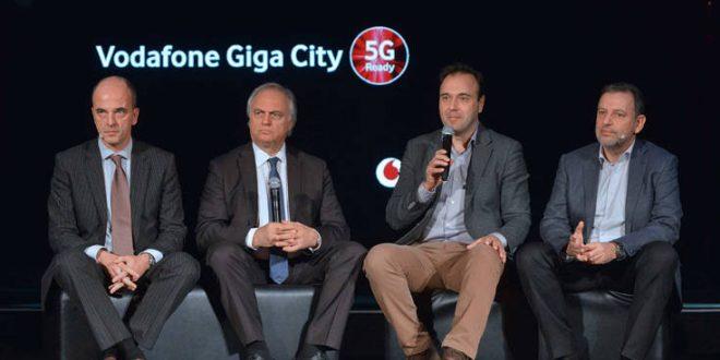Η Vodafone φέρνει το μέλλον με το Vodafone Giga City 5G στα Τρίκαλα