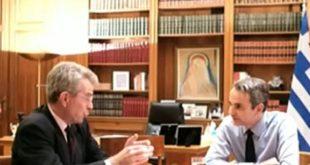 Στο επίκεντρο των συζητήσεων Μητσοτάκη-Πάιατ οι προκλητικές ενέργειες της Τουρκίας