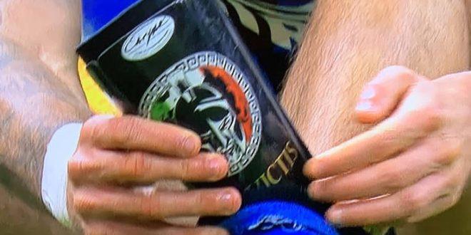 Ποδοσφαιριστής φορούσε επικαλαμίδες με φασιστικά σύμβολα