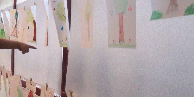 Η Νέα Φιλαδέλφεια φιλοξενεί έκθεση με τις δημιουργίες παιδιών προσφύγων
