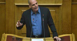 Βαρουφάκης: Η Ελλάδα δεν χρειάζεται τίποτα ως στήριξη από τις ΗΠΑ