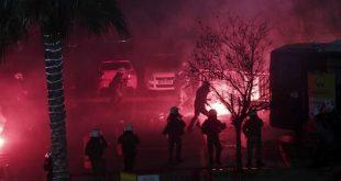 Ένας τραυματίας αστυνομικός και επτά προσαγωγές λόγω επεισοδίων με οπαδούς