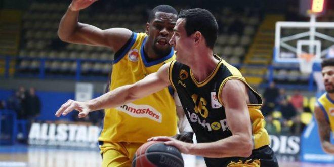 Basket League: Με ηγέτη Ζήση έκανε το 12x12 η ΑΕΚ