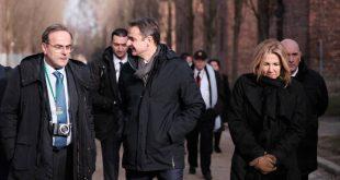 Ολοκληρώθηκε η επίσκεψη του Κυριάκου Μητσοτάκη στο Άουσβιτς