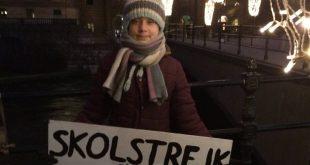 Γκρέτα Τούνμπεργκ: Γιόρτασε τα γενέθλιά της… διαδηλώνοντας για επτά ώρες