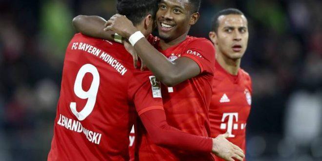 Bundesliga: Έριξε 4άρα στο Βερολίνο η Μπάγερν