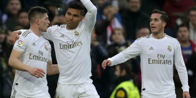 La Liga: Νίκη η Ρεάλ με «διπλό» Καζεμίρο