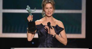 Η Ρενέ Ζελβέγκερ αφιέρωσε το βραβείο της στη Τζούντι Γκάρλαντ