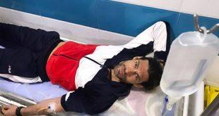 Σε νοσοκομείο του Ιράν με ορό στο χέρι ο Γιάννης Σπαλιάρας
