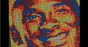 Κόμπι Μπράιαντ: Εντυπωσιακό πορτραίτο από κύβους του Ρούμπικ