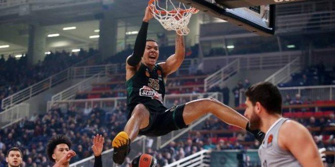 Euroleague: Με 100άρα νίκησε την Βιλερμπάν ο Παναθηναϊκός